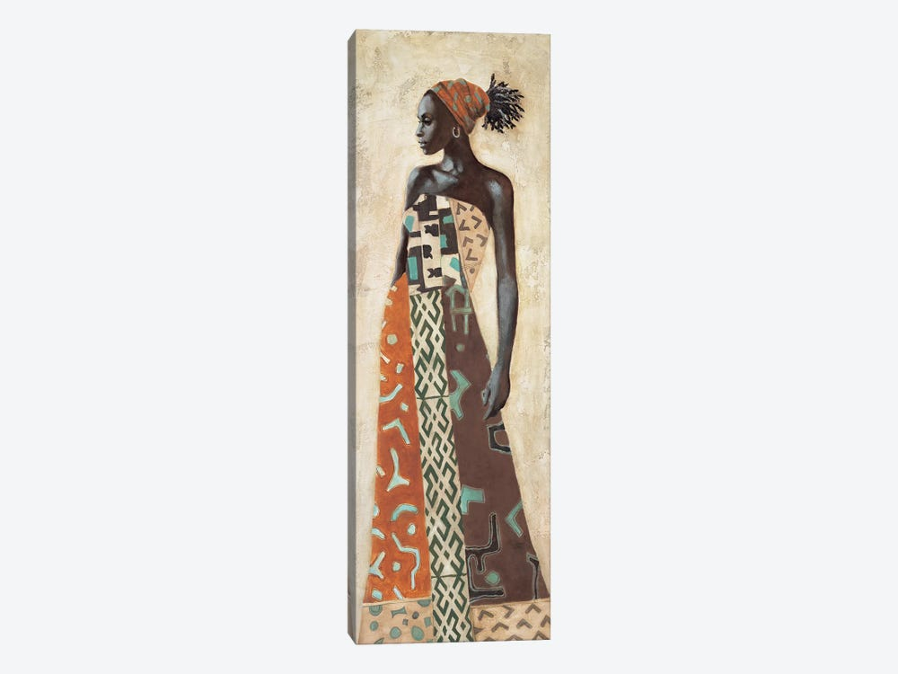Femme Africaine IV by Jacques Leconte 1-piece Canvas Art Print