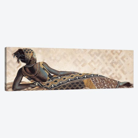 Femme Africaine V Canvas Print #JAL5} by Jacques Leconte Canvas Art Print