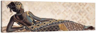 Femme Africaine V Canvas Art Print