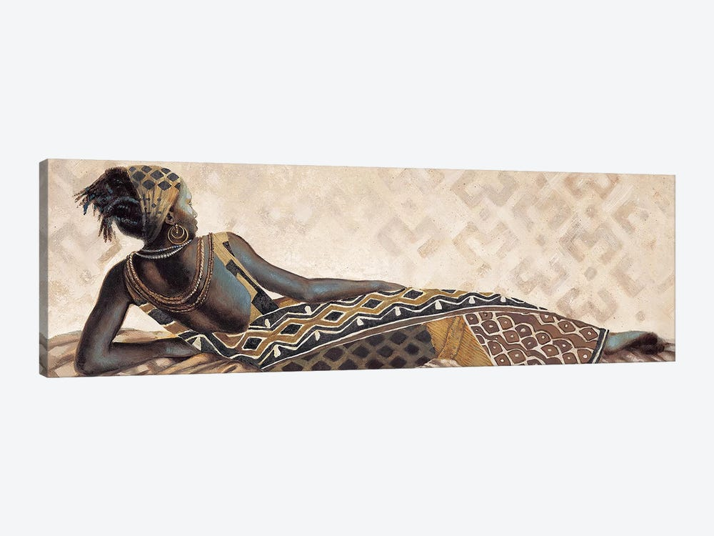 Femme Africaine V by Jacques Leconte 1-piece Canvas Wall Art