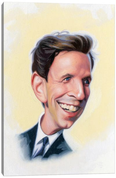 Seth Meyers Canvas Art Print