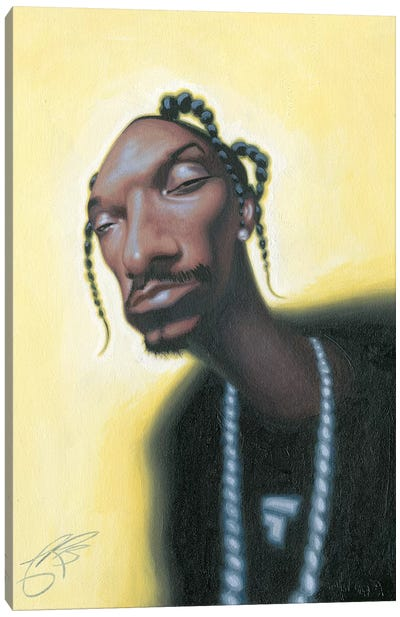 Snoop Dogg Canvas Print #JAM12
