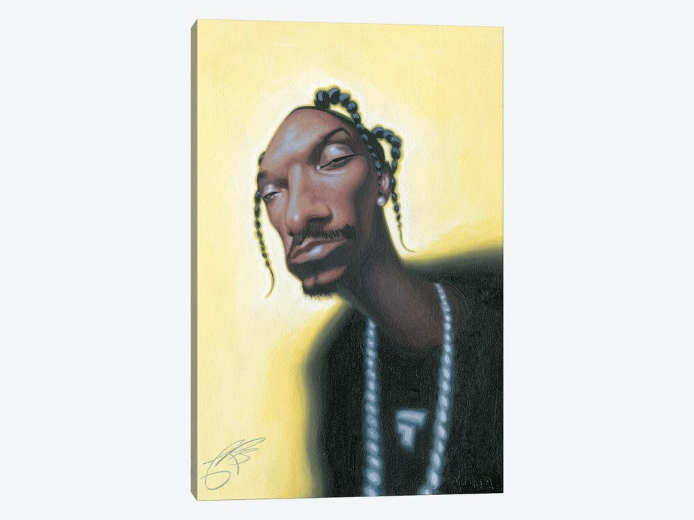 Snoop Dogg by James Bennett 1-piece Canvas Print