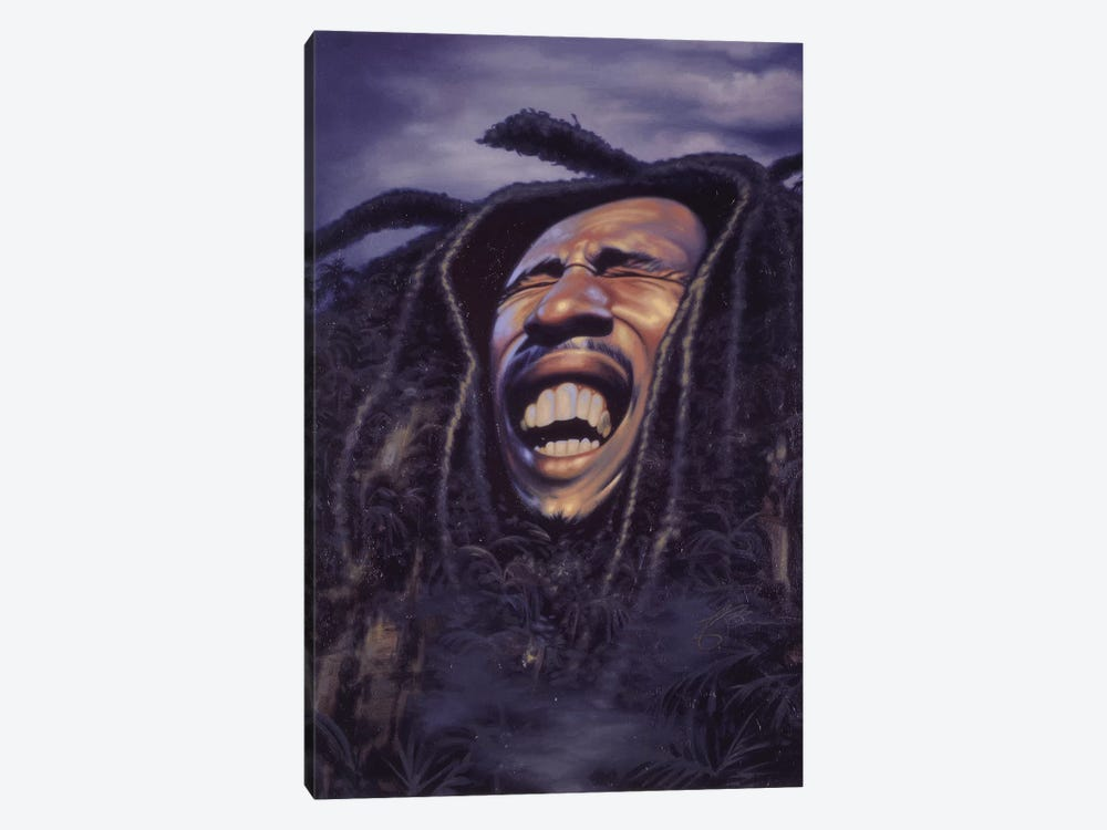 Bob Marley 1-piece Canvas Wall Art