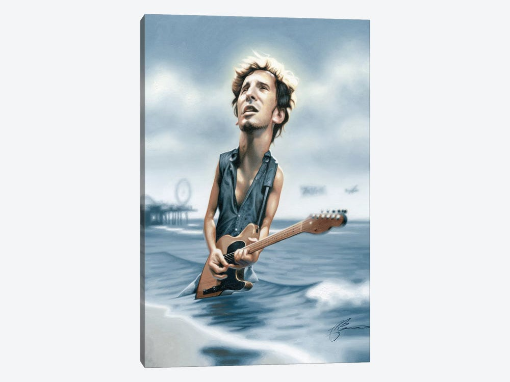 Bruce Springsteen 1-piece Canvas Print