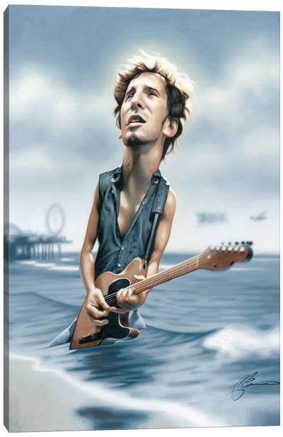Bruce Springsteen Canvas Art Print