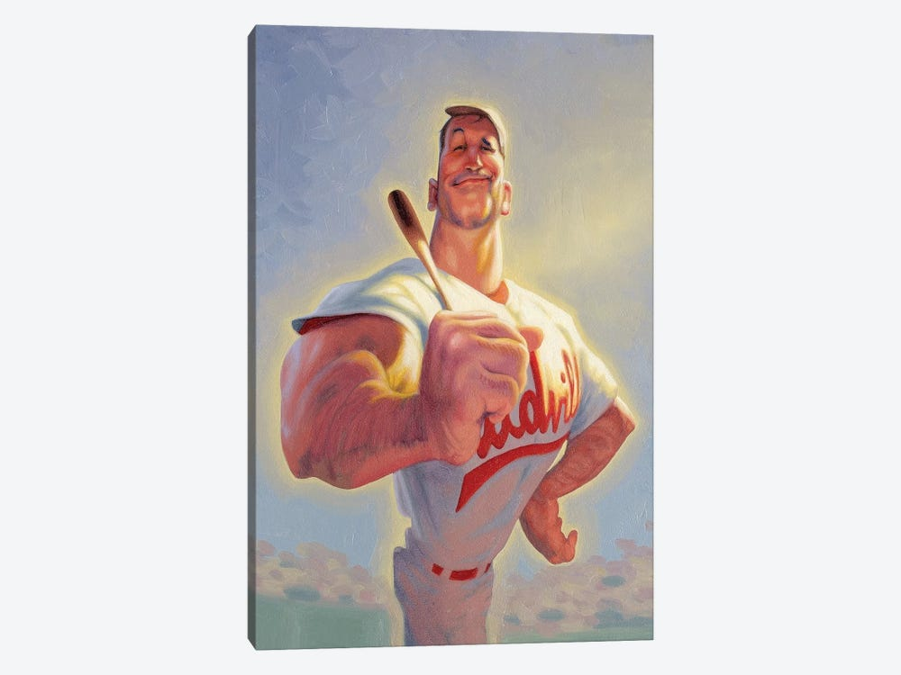 Casey At The Bat 1-piece Canvas Art