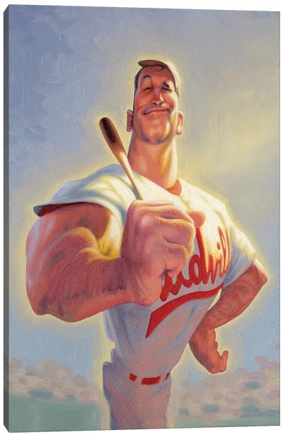 Casey At The Bat Canvas Art Print