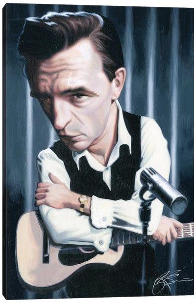 Johnny Cash Canvas Print #JAM5