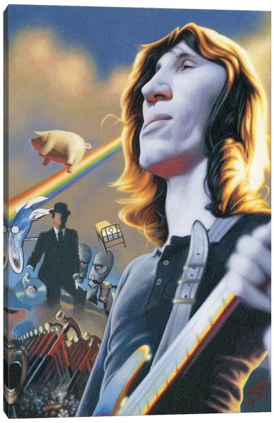 Roger Waters Canvas Art Print