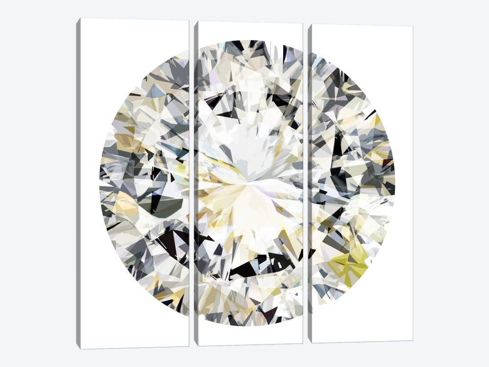 Shine On III by Jan Tatum 3-piece Canvas Art Print
