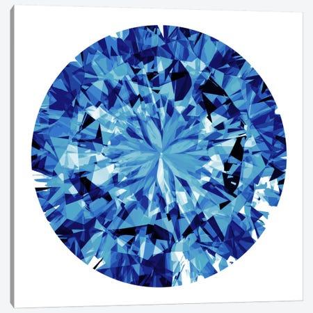 Shine On In Blue Canvas Print #JAN11} by Jan Tatum Canvas Wall Art