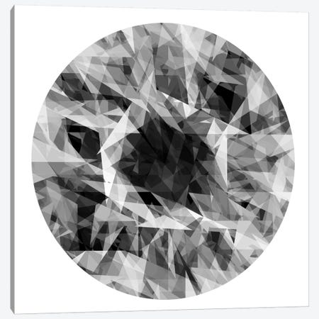 Facets In The Round I Canvas Print #JAN1} by Jan Tatum Canvas Artwork