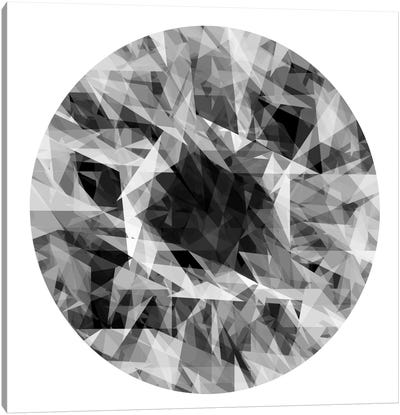 Facets In The Round I Canvas Art Print