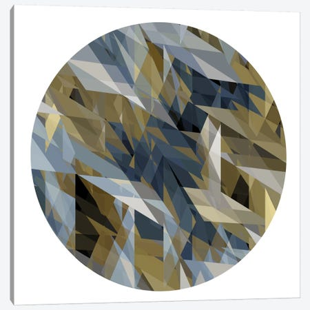 Facets In The Round II Canvas Print #JAN2} by Jan Tatum Canvas Art
