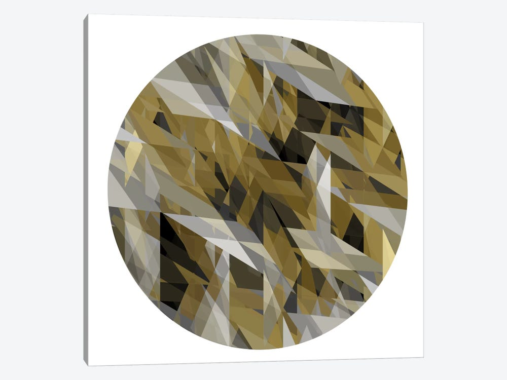 Facets In The Round III by Jan Tatum 1-piece Canvas Artwork