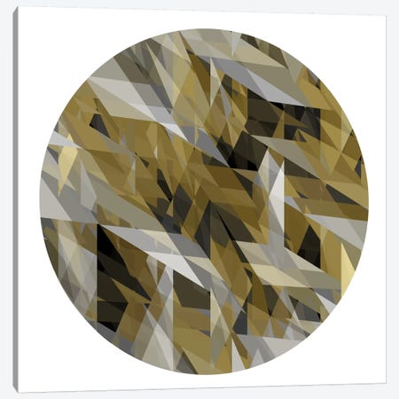 Facets In The Round III Canvas Print #JAN3} by Jan Tatum Canvas Artwork