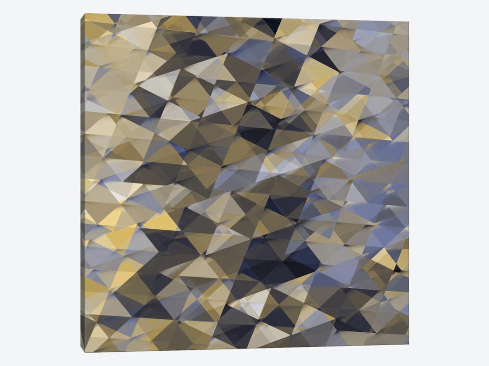Geometric Squared I by Jan Tatum 1-piece Canvas Print