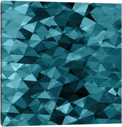 Geometric Squared III Canvas Art Print