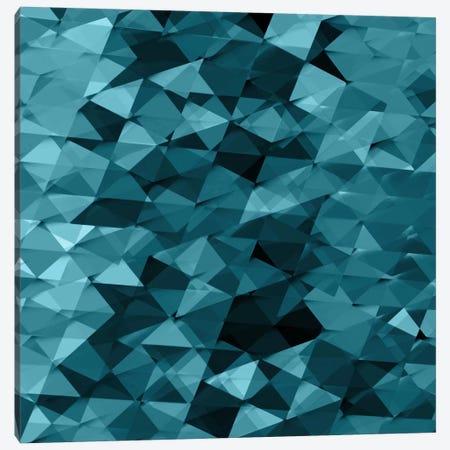 Geometric Squared III Canvas Print #JAN6} by Jan Tatum Art Print