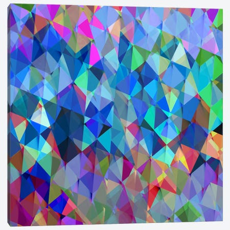 Geometric Squared IV Canvas Print #JAN7} by Jan Tatum Art Print