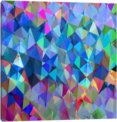 Geometric Squared IV Canvas Art Print