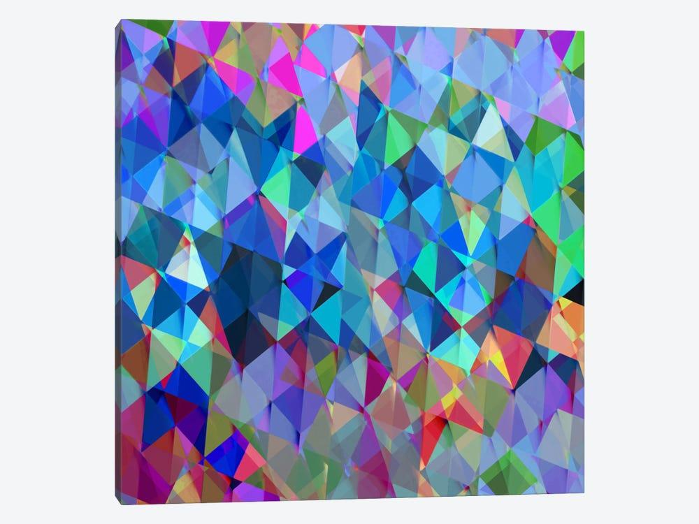 Geometric Squared IV by Jan Tatum 1-piece Canvas Artwork
