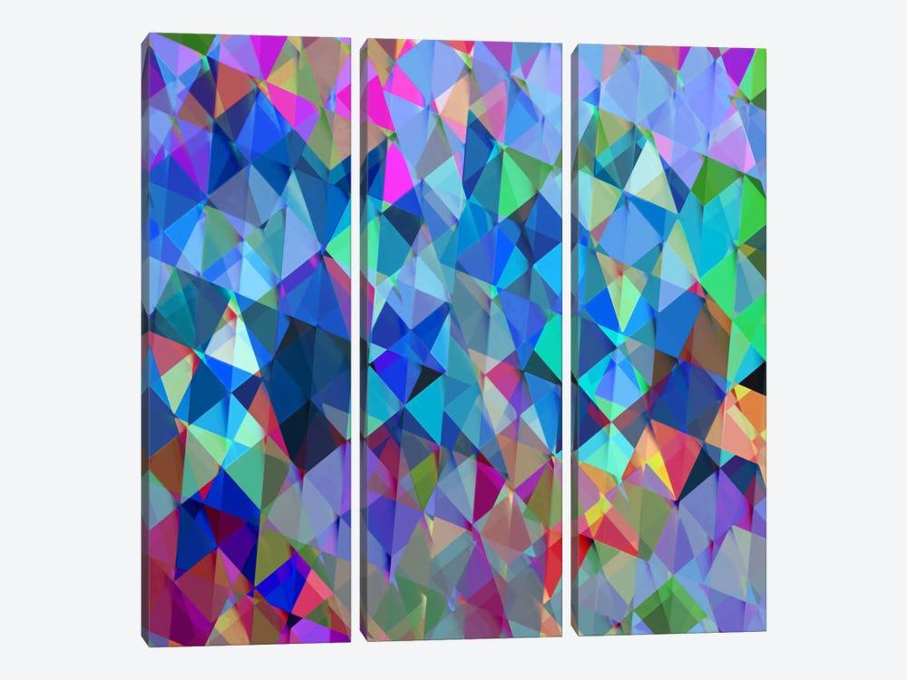 Geometric Squared IV by Jan Tatum 3-piece Canvas Artwork