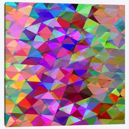 Geometric Squared V Canvas Print #JAN8} by Jan Tatum Canvas Art