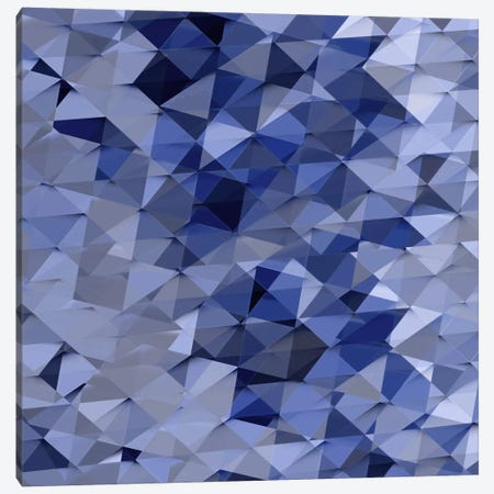 Geometric Squared VI Canvas Print #JAN9} by Jan Tatum Canvas Wall Art