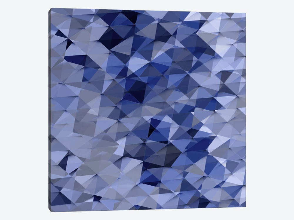 Geometric Squared VI by Jan Tatum 1-piece Canvas Artwork