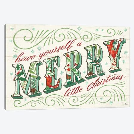 Holiday Joy I Canvas Print #JAP105} by Janelle Penner Canvas Artwork