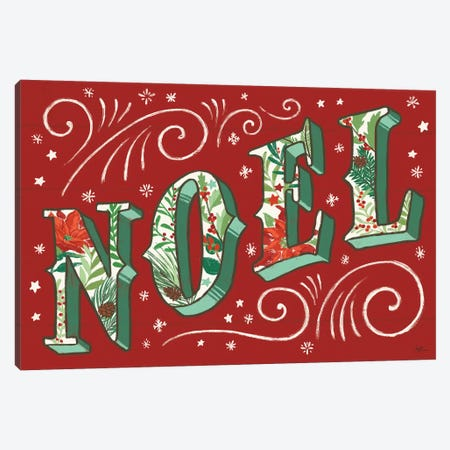 Holiday Joy II Canvas Print #JAP106} by Janelle Penner Canvas Wall Art
