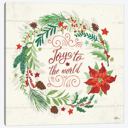 Holiday Joy III Canvas Print #JAP107} by Janelle Penner Canvas Art