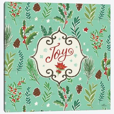 Holiday Joy IX Canvas Print #JAP109} by Janelle Penner Canvas Print