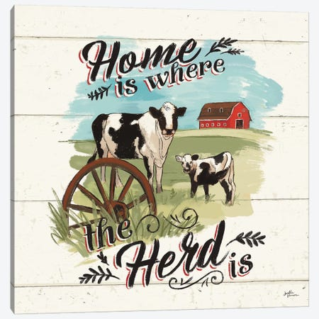 Farm Life II Canvas Print #JAP10} by Janelle Penner Canvas Art