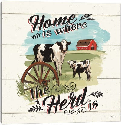 Farm Life II Canvas Art Print
