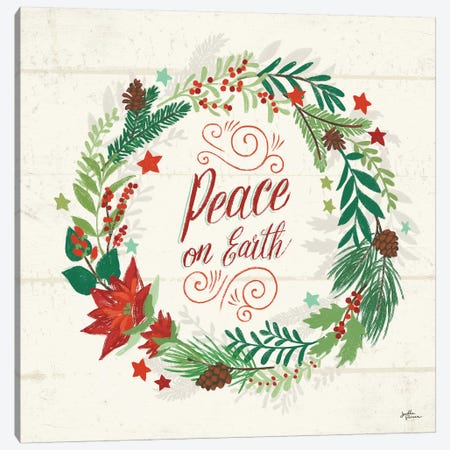 Holiday Joy V Canvas Print #JAP110} by Janelle Penner Canvas Wall Art