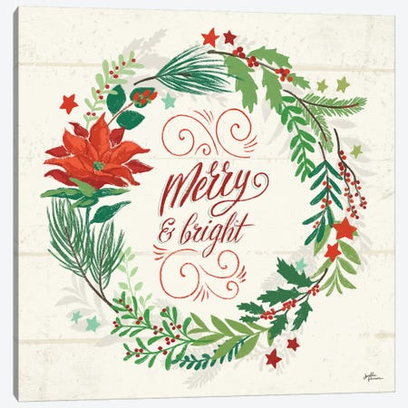 Holiday Joy VI Canvas Print #JAP111} by Janelle Penner Canvas Wall Art