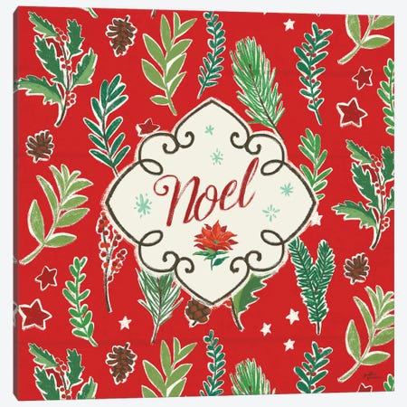 Holiday Joy VIII Canvas Print #JAP113} by Janelle Penner Canvas Wall Art