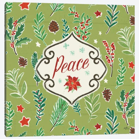Holiday Joy X Canvas Print #JAP114} by Janelle Penner Canvas Print