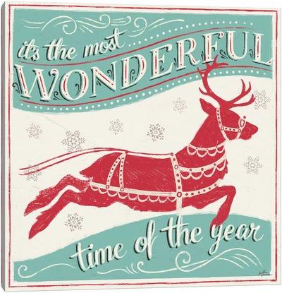 Merry Little Christmas IV Canvas Art Print