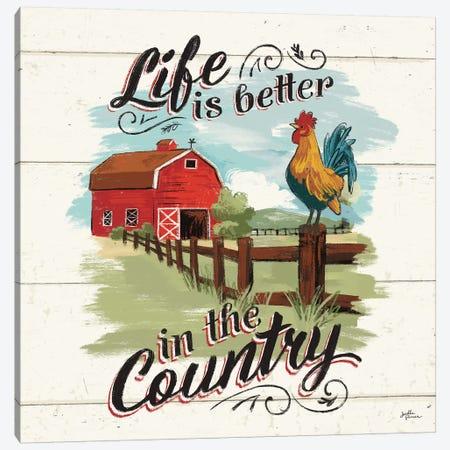 Farm Life III Canvas Print #JAP11} by Janelle Penner Canvas Artwork