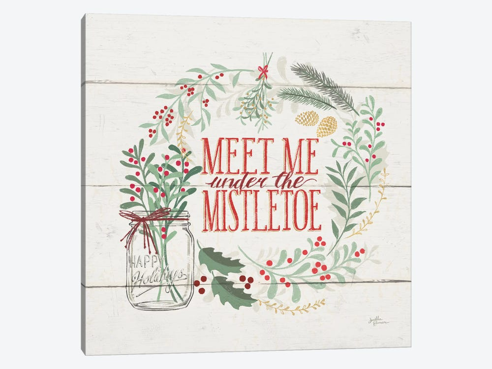 Seasons Greetings V by Janelle Penner 1-piece Canvas Print
