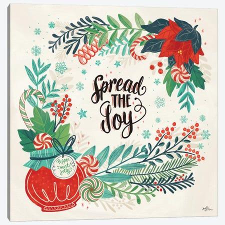 Sweet Christmas II Canvas Print #JAP128} by Janelle Penner Art Print