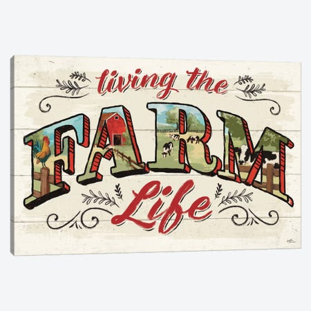 Farm Life IV Canvas Print #JAP12} by Janelle Penner Canvas Artwork