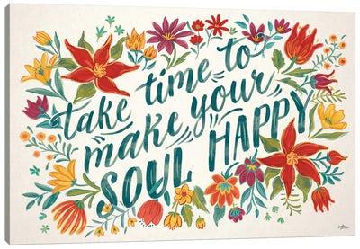 Happy Thoughts I Canvas Art Print
