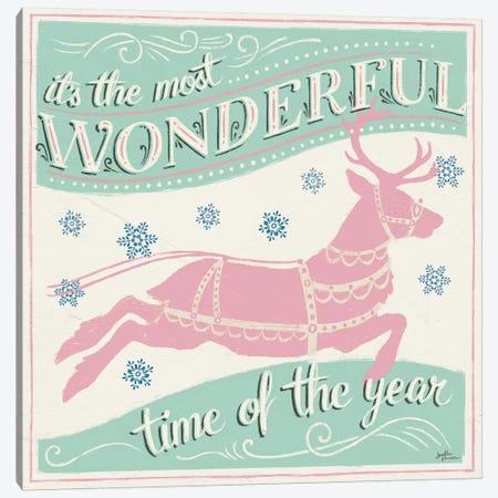Merry Little Christmas IV Vintage Canvas Print #JAP143} by Janelle Penner Art Print