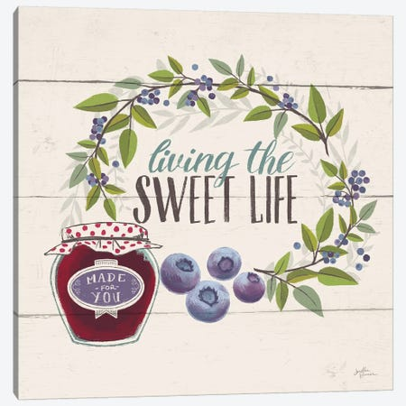 Sweet Life V Canvas Print #JAP150} by Janelle Penner Canvas Wall Art