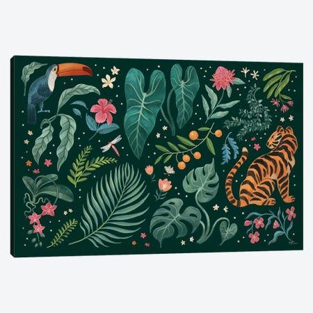 Jungle Love I Canvas Print #JAP158} by Janelle Penner Canvas Artwork